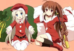 Rating: Safe Score: 58 Tags: christmas imoto_yuki little_busters! natsume_rin noumi_kudryavka pantyhose User: Jigsy