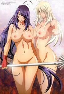 Rating: Questionable Score: 80 Tags: censored ikkitousen ikkitousen~extravaganza_epoch~ kanu_unchou musashibou_benkei naked nipples photoshop rin_sin weapon User: gilgames