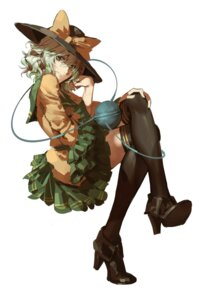 Rating: Safe Score: 27 Tags: heels komeiji_koishi lucky_drift thighhighs touhou User: Mr_GT