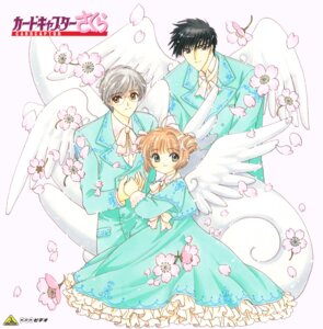 Rating: Safe Score: 3 Tags: card_captor_sakura clamp dress kinomoto_sakura kinomoto_touya megane tsukishiro_yukito wings User: Omgix