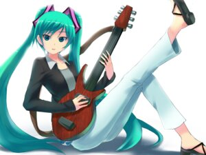 Rating: Safe Score: 3 Tags: guitar hatsune_miku tuanzi vocaloid User: charunetra