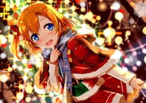 Rating: Safe Score: 51 Tags: christmas gochou_(comedia80) kousaka_honoka love_live! User: lichtzhang