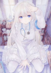 Rating: Safe Score: 26 Tags: darkkanan dress gothic_lolita lolita_fashion nurse pantyhose User: whitespace1
