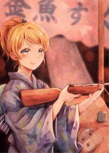 Rating: Safe Score: 26 Tags: ayase_eli gun lilylion26 love_live! yukata User: charunetra