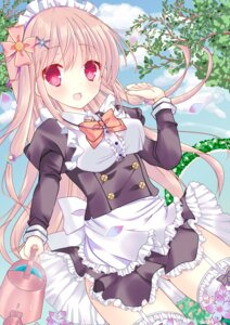 Rating: Questionable Score: 56 Tags: dress maid moe2015 sorane_kokan stockings thighhighs User: KazukiNanako