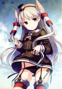Rating: Questionable Score: 82 Tags: amatsukaze_(kancolle) h2so4 island_of_horizon kantai_collection loli pantsu stockings string_panties thighhighs User: yong