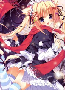 Rating: Questionable Score: 146 Tags: animal_ears dress nekomimi shiromochi_sakura tail thighhighs User: drop