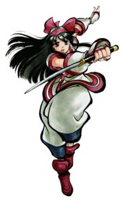 Rating: Safe Score: 6 Tags: japanese_clothes nakoruru samurai_spirits shiroi_eiji snk sword User: Radioactive