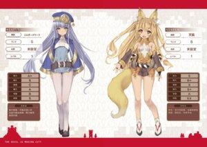 Rating: Questionable Score: 21 Tags: animal_ears kitsune maou-sama_no_machizukuri!_~saikyou_no_danjon_wa_kindai_toshi~ pantyhose pointy_ears profile_page tail tsurusaki_takahiro User: kiyoe