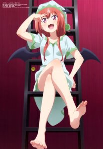 Rating: Safe Score: 128 Tags: feet gabriel_dropout kurumizawa_satanichia_mcdowell pajama watanabe_mai wings User: drop