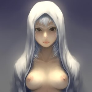 Rating: Questionable Score: 73 Tags: breasts nipples no_bra open_shirt rakugakio User: 23yAyuMe