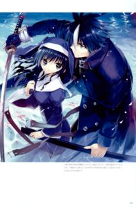 Rating: Safe Score: 19 Tags: fancy_fantasia nun scar/edge sword ueda_ryou User: Radioactive