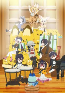 Rating: Safe Score: 5 Tags: animal_ears common_raccoon emperor_penguin fennec gentoo_penguin headphones humboldt_penguin kaban_(kemono_friends) kemono_friends lucky_beast pantsu pantyhose rockhopper_penguin royal_penguin serval tagme tail thighhighs User: saemonnokami