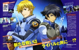 Rating: Safe Score: 4 Tags: chiba_michinori graham_aker gundam gundam_00 male setsuna_f_seiei User: Aurelia