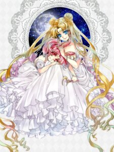 Rating: Safe Score: 11 Tags: chibiusa dress sailor_moon tsukino_usagi tsuna2727 User: Mr_GT