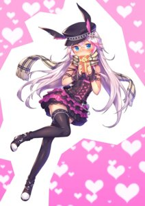 Rating: Safe Score: 35 Tags: animal_ears bunny_ears heels lolita_fashion shennai_misha thighhighs User: nphuongsun93