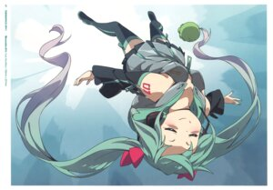 Rating: Safe Score: 47 Tags: hatsune_miku heels kanzaki_hiro tabgraphics tattoo thighhighs vocaloid User: fireattack