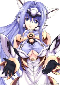 Rating: Safe Score: 22 Tags: cleavage kos-mos miti xenosaga User: Radioactive