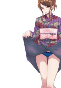 Rating: Questionable Score: 37 Tags: 40hara pantsu skirt_lift tagme yukata User: kiyoe