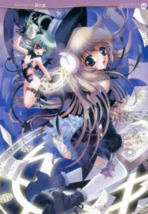 Rating: Questionable Score: 16 Tags: a=g horns pantsu tail thighhighs wings witch User: petopeto