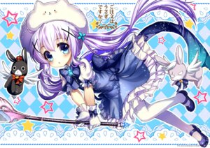 Rating: Safe Score: 43 Tags: abondz dress gochuumon_wa_usagi_desu_ka? heels kafuu_chino pantyhose weapon User: Mr_GT