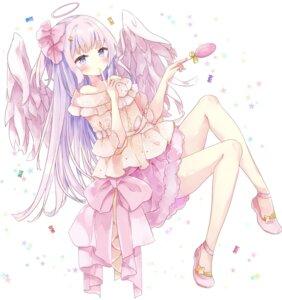 Rating: Safe Score: 20 Tags: angel skirt_lift tsukiyo_(skymint) wings User: BattlequeenYume