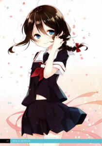 Rating: Safe Score: 15 Tags: kantai_collection moni naoto seifuku shigure_(kancolle) User: kiyoe