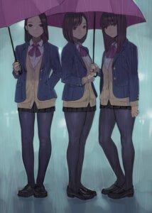Rating: Safe Score: 35 Tags: pantyhose seifuku sweater umbrella yom User: Mr_GT