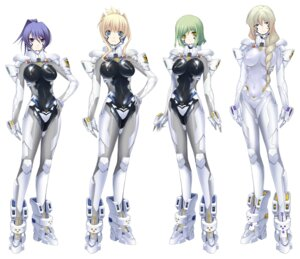 Rating: Questionable Score: 30 Tags: bodysuit erect_nipples helgarose_von_falkenmayer ilfriede_von_feulner lunateresia_von_wizleben muvluv muvluv_alternative_chronicles sigelinde_von_fahrenhorst User: Radioactive