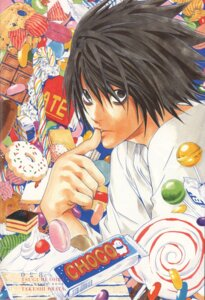 Rating: Safe Score: 6 Tags: death_note l male obata_takeshi User: Umbigo