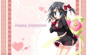 Rating: Safe Score: 57 Tags: cleavage hatsuyuki_sakura hontani_kanae jpeg_artifacts saga_planets shinonome_nozomu valentine wallpaper User: bakatori