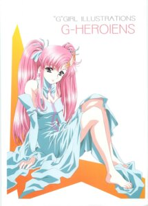 Rating: Safe Score: 15 Tags: dress gundam gundam_seed kawarajima_koh lacus_clyne User: GP