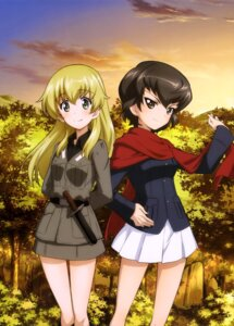 Rating: Safe Score: 19 Tags: caesar carpaccio girls_und_panzer uniform weapon User: drop