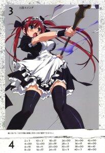 Rating: Safe Score: 27 Tags: airi maid queen's_blade takamura_kazuhiro thighhighs weapon User: vita