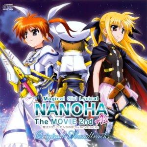 Rating: Safe Score: 6 Tags: disc_cover fate_testarossa mahou_shoujo_lyrical_nanoha mahou_shoujo_lyrical_nanoha_a's mahou_shoujo_lyrical_nanoha_the_movie_2nd_a's takamachi_nanoha yagami_hayate User: Hatsukoi