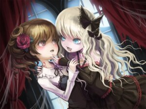 Rating: Safe Score: 19 Tags: blood gothic_lolita lolita_fashion takarl_ume User: oldwrench