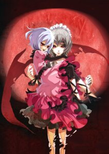Rating: Safe Score: 16 Tags: izayoi_sakuya nye remilia_scarlet touhou User: Mr_GT