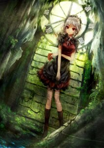 Rating: Safe Score: 61 Tags: dress hourai_no_hangentsuki izayoi_sakuya maid touhou User: itsu-chan