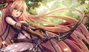 Rating: Safe Score: 34 Tags: arisa_(shadowverse) armor elf pointy_ears saya_kuroha shadowverse weapon User: sym455
