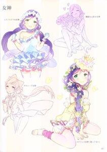 Rating: Safe Score: 9 Tags: ancotaku crossdress dress love_live! sentiment_color sketch thighhighs toujou_nozomi User: Radioactive