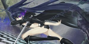 Rating: Safe Score: 23 Tags: bikini_top black_rock_shooter black_rock_shooter_(character) swimsuits sword ushas vocaloid User: thelost