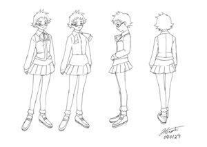 Rating: Safe Score: 3 Tags: character_design hisayuki_hirokazu kikukawa_yukino mai_hime megane seifuku User: Radioactive