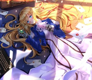 Rating: Safe Score: 38 Tags: dress mecha_musume swordsouls violet_evergarden violet_evergarden_(character) User: Mr_GT