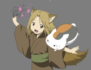 Rating: Safe Score: 4 Tags: animal_ears kitsune kogitsune natsume_yuujinchou nyanko tail transparent_png vector_trace yukata User: CnP