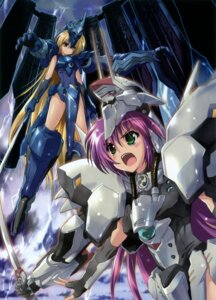 Rating: Questionable Score: 12 Tags: komatsu_e-ji kurogane_no_linebarrels mecha_musume User: petopeto
