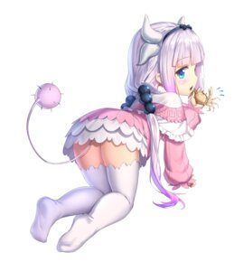 Rating: Safe Score: 82 Tags: drogoth feet horns kanna_kamui kobayashi-san_chi_no_maid_dragon tail thighhighs User: gnarf1975