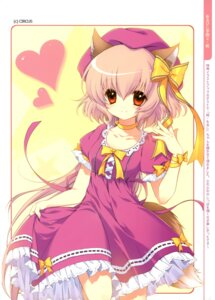 Rating: Safe Score: 27 Tags: animal_ears dmyo dress r.p.g._gakuen snow_ring tail User: fireattack
