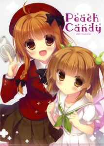 Rating: Safe Score: 43 Tags: fantasista_doll peach_candy seifuku uno_miko uno_uzume yukie User: WtfCakes
