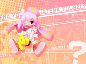 Rating: Safe Score: 3 Tags: hatena_yousei question_fairy wallpaper User: Shamensyth