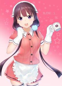 Rating: Safe Score: 26 Tags: akky_(akimi1127) blend_s maid sakuranomiya_maika thighhighs waitress User: Mr_GT